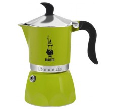 Кофеварка гейзерная Bialetti Fiametta цвет Лайм, 3 чашки