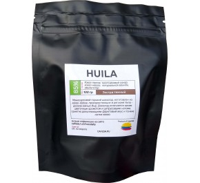 Шоколад экстра темный Huila 85%, 100 грамм