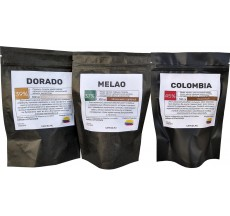 Набор колумбийского шоколада с панелой, 300 грамм (3*100)