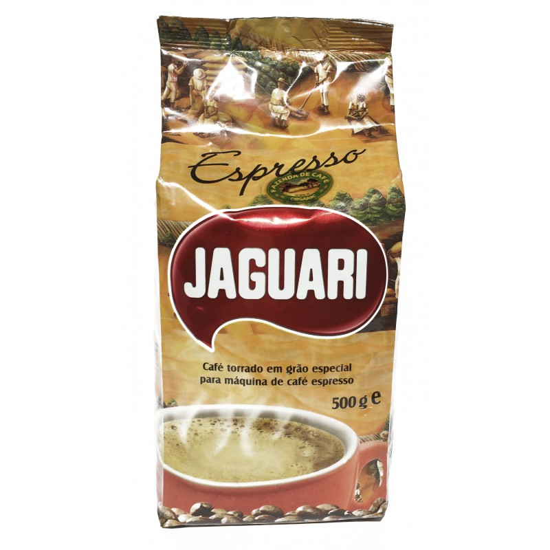 Кофе обжаренный в зернах Jaguari Espresso 500 гр., Бразилия
